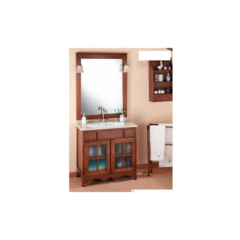 Juegos De Baño Rusticos:Muebles de baño – Rústico Cruz 80 cm