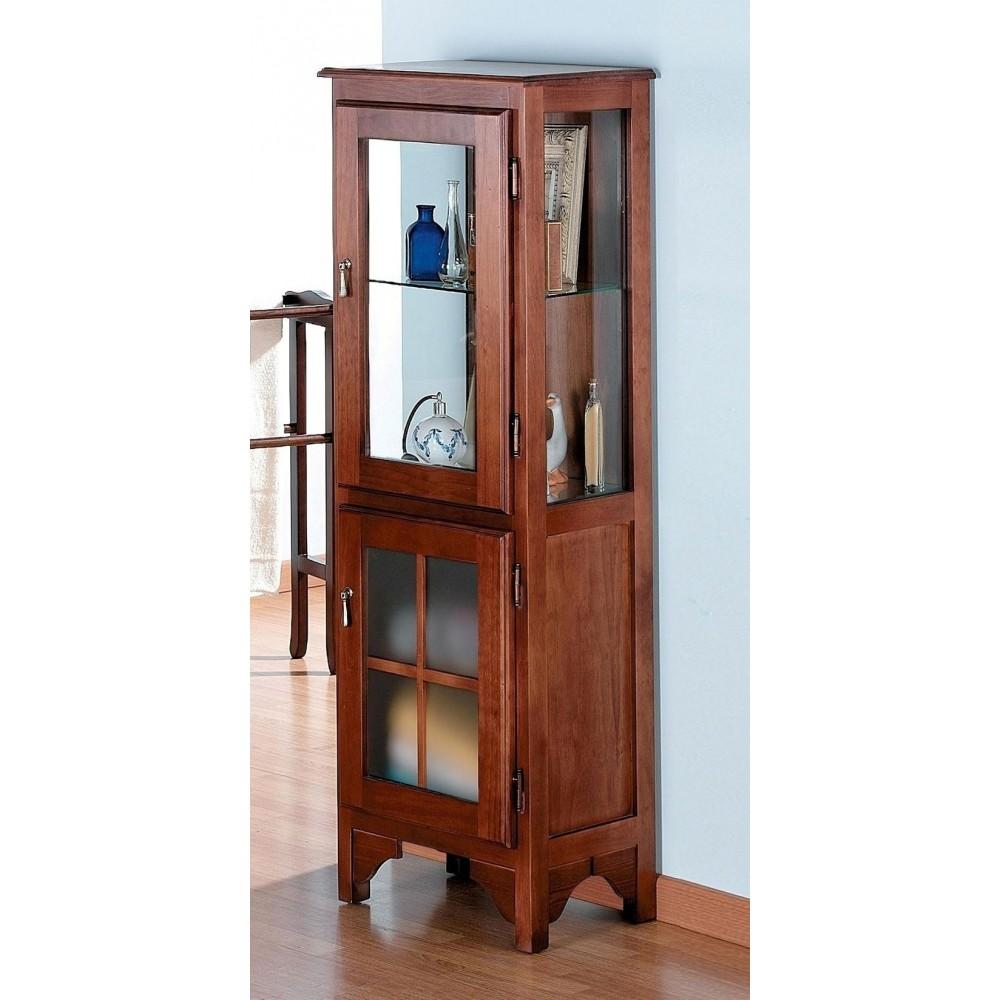 Muebles de ba o columna r stica 45 cm for Columna de bano ikea