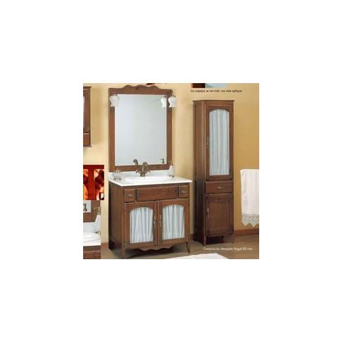 Muebles de ba o r sticos 100 cm - Oferta muebles de bano ...