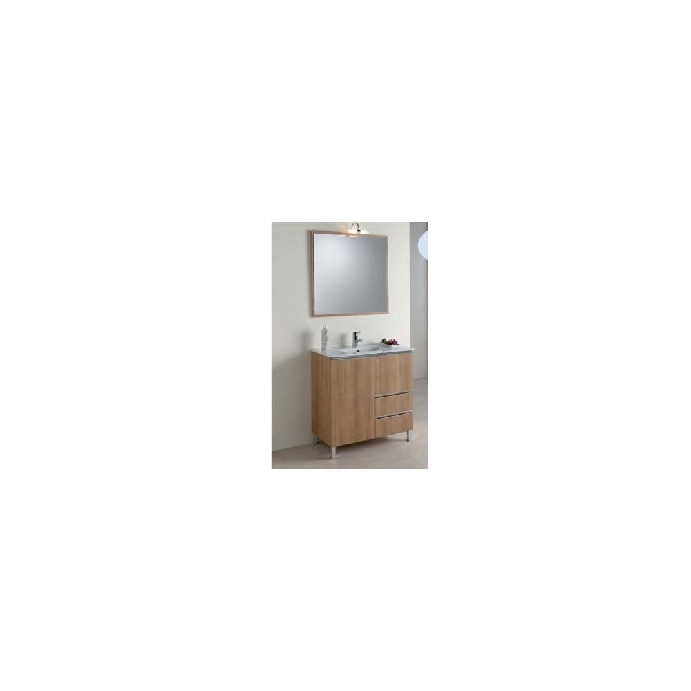 Muebles De Baño Fondo Reducido: medidas > de 80 a 89 cm > MUEBLE DE BAÑO SENA 80 CM FONDO REDUCIDO