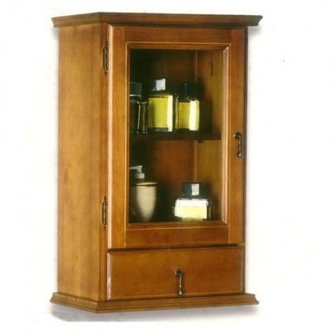 Muebles de ba o colgar r stico 45 cm - Muebles rusticos bano ...