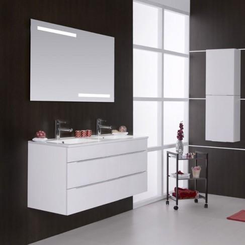 Muebles de ba o avina 120 cm for Banos con dos lavabos