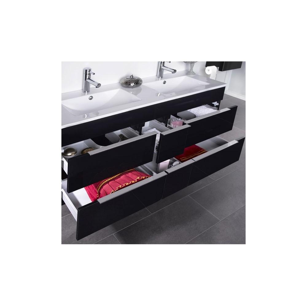 Muebles de ba o dos lavabos - Muebles de bano originales ...