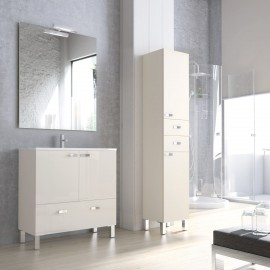 Muebles de ba o columna madera 45 cm for Muebles de bano 60 x 45