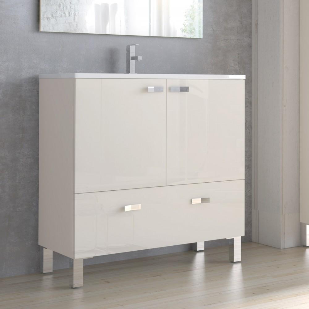 Muebles de ba o vega 60 cm for Mueble 10 cm fondo
